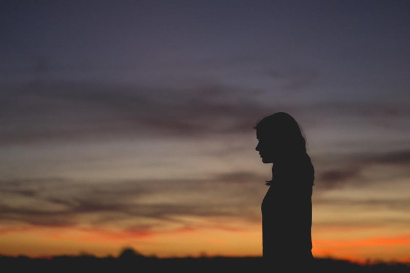 woman-at-dusk